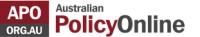 Australian Policy Onlne