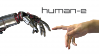 Human E logo