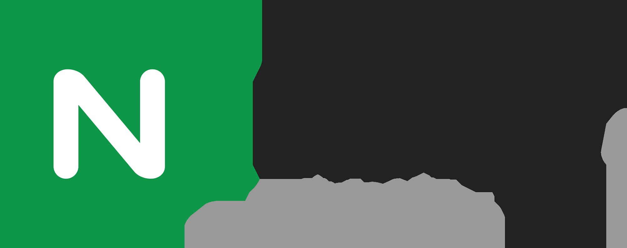 NGINX Logo Black Endorsement RGB