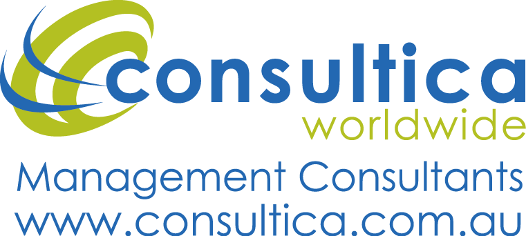 Consultica Management Consultants with Web Address PNG