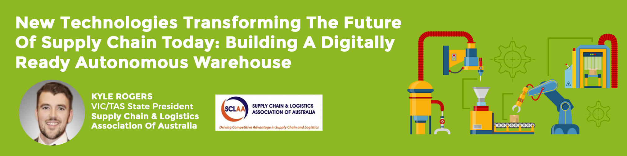 3rd Digital Supply Chain Innovation And Humanless Warehouse