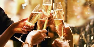 Champagne networking session