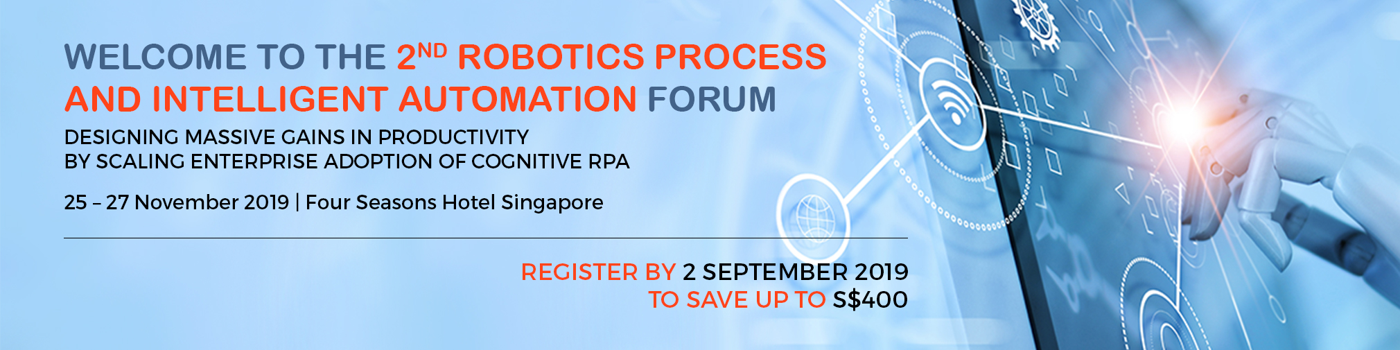 2nd Robotics Process And Intelligent Automation Forum