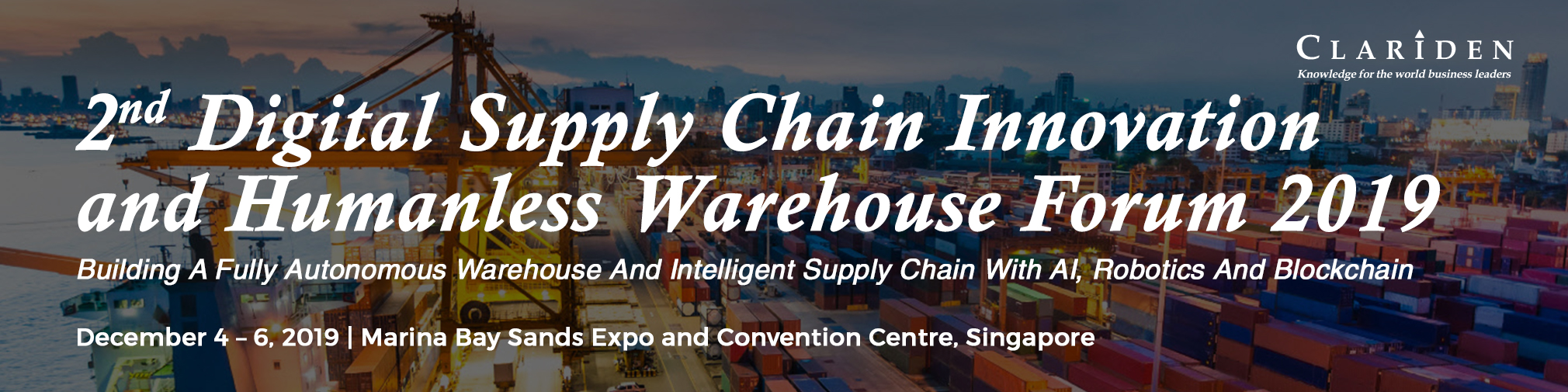 2nd Digital Supply Chain Innovation and Humanless